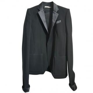 Balenciaga black tuxedo jacket
