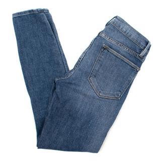 Frame Light Wash Skinny Denim Jeans