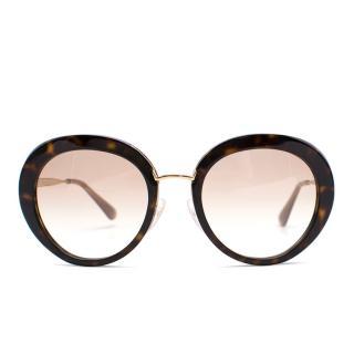 Prada brown SPR16Q sunglasses