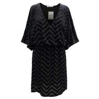 Gestuz Black Velvet Dress
