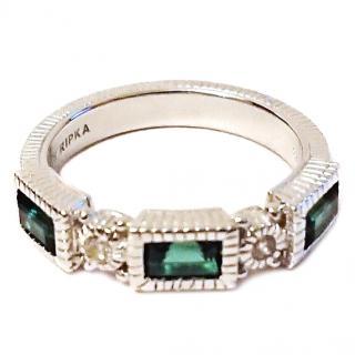 Judith Ripika Green Quartz Ring RRP �179.00