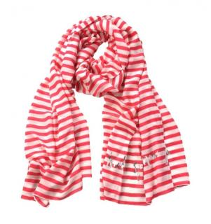 Kate Spade Red Stripe Scarf