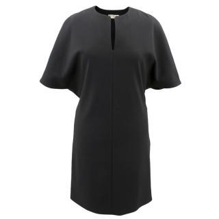 Balenciaga Paris Black Shift Dress
