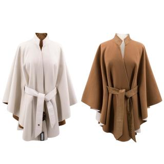 Loro Piana Reversible Cashmere Cape