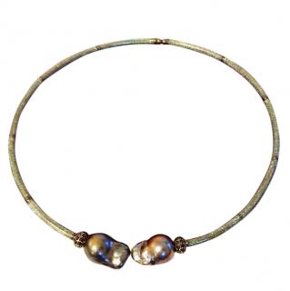 Mathew Campbell Laurenza  New York Baroque Pearl Necklace From �1850