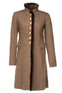 Moloh Cream Label Dress Coat - current season