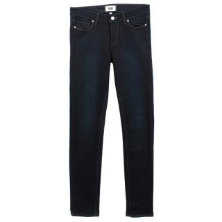 Paige Dark Wash Denim Skinny Jeans