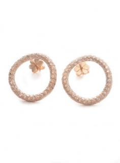 Maha Lozi Hula Hoop Earrings Rrp �540.00