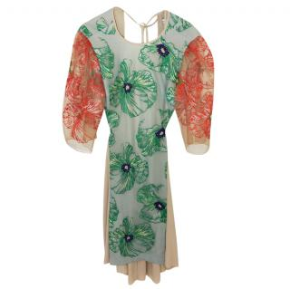 Jonathan Saunders Embroidered Dress
