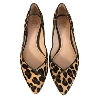 Tory Burch leopard Ballerina UK 5