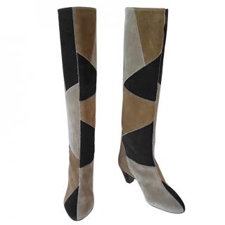 Isabel Martant Etoile Patchwork boots