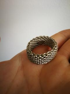 Tiffany & Co Somerset bracelet & ring