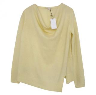 Duffy Yellow Cashmere Jumper