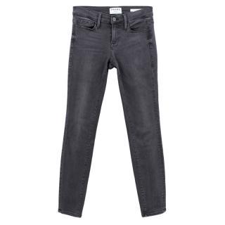 Frame Charcoal Le Skinny De Jeanne Jeans
