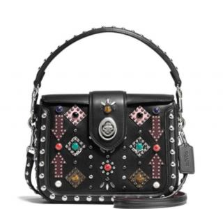 Coach Page Western Rivets Crossbody Bag