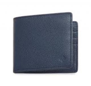 Mulberry Slim 6 Card Blue Wallet
