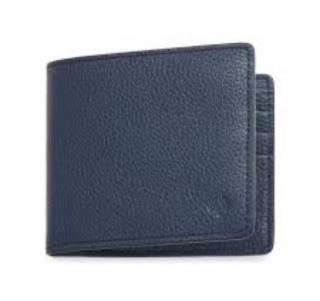 Mulberry Slim 6 Card Blue Wallet