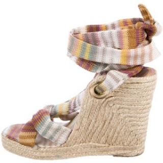 Missoni Espadrille Wedges