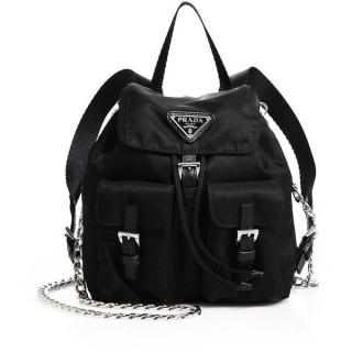 Prada Vela Mini Cross Body Backpack