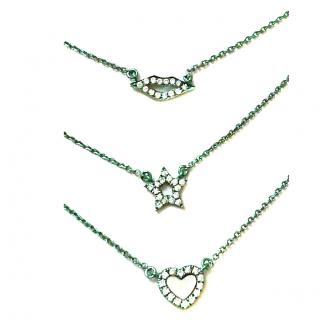 AS29 Diamond Stack Necklaces 18ct Gold Rrp �1500