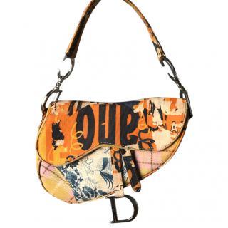 Christian Dior Bag Vintage Rare Limited Edition Gaucho Bag by Galliano