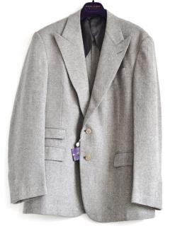 Ralph Lauren Purple Label Kent grey wool jacket