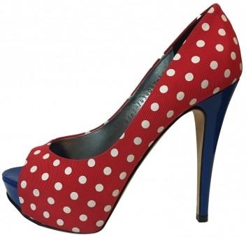 04a5b8b8ef9a Gina Polka Dot Heels