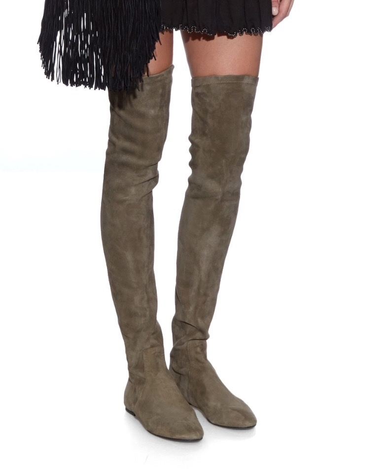 753a368c4ca Isabel Marant Etoile Suede Brenna Boots