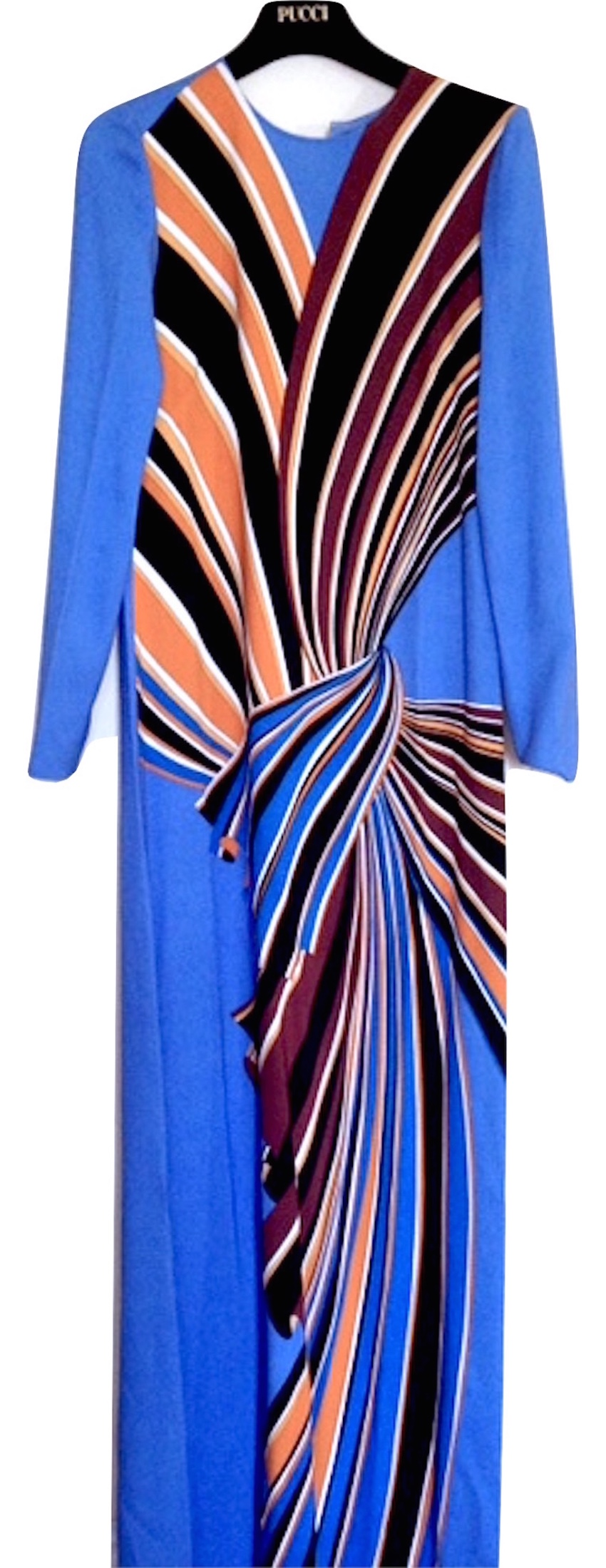 Emilio Pucci Blue Maxi Dress