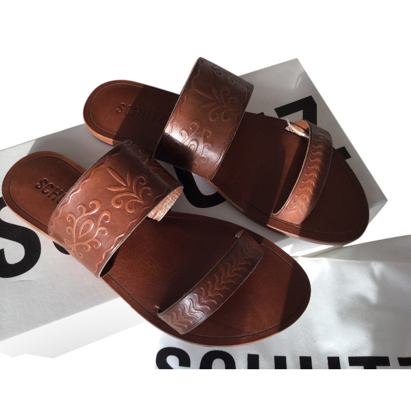 Schultz leather sandals