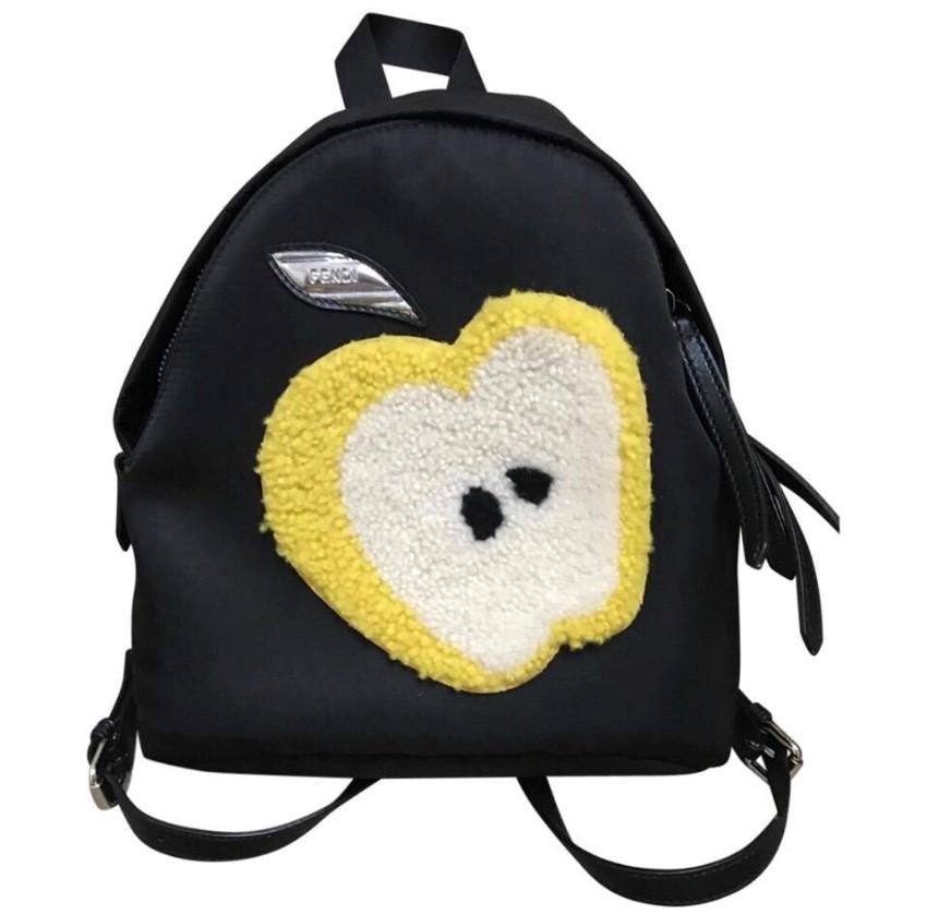 5cbfd75eee78 Fendi Apple Small Backpack