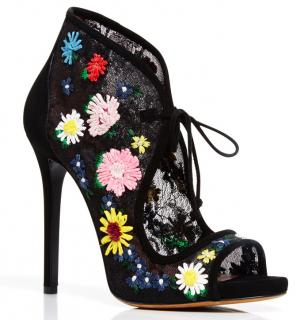 Tabitha Simmons Dusty Meadow Embroidered Shoes