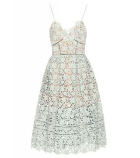 SELF-PORTRAIT  Azaelea Dress Mint Green UK8