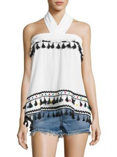 Dodo Bar Or Naomi hassle Fringed Top