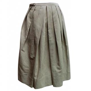 MaxMara Pleated Skirt