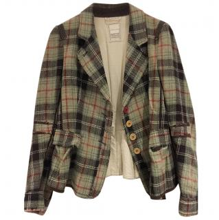 Marithe Francois Girbaud well checked jacket