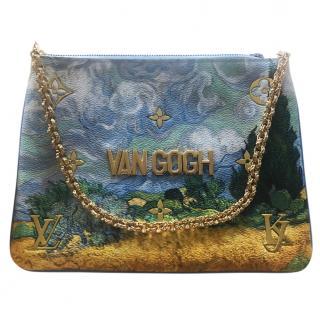Limited edition Masters Louis Vuitton x Jeff Koons Van Gogh pochette