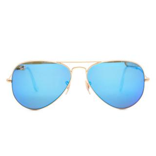 Ray-Ban gold aviator RB3025 112/4L 58-14 sunglasses