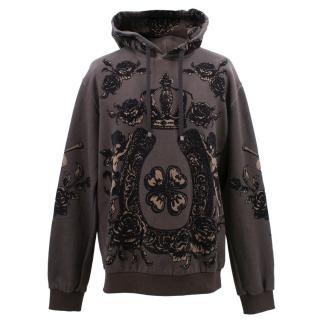 Dolce & Gabbana rose print sweatshirt