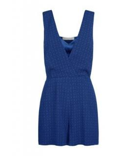 Sandro Blue 'Andrea' Playsuit