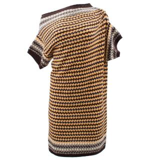Missoni Yellow Knitted Dress