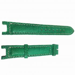 Green Exotic Skin Watch Strap