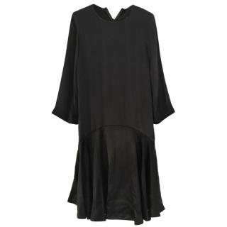 Gianni Black Loose Fit Dress