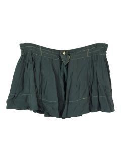 Isabel Marant Etoile green gavin mini skirt