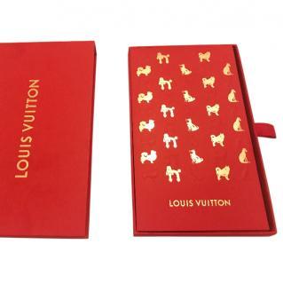 Rare Louis Vuitton Year of Dog Red Envelopes Set