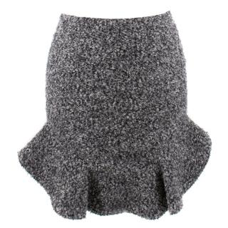 Isabel Marant Grey Textured Skirt