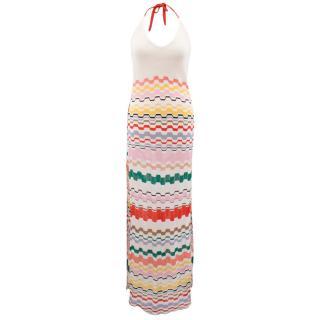 Missoni Zigzag Print Halterneck Dress