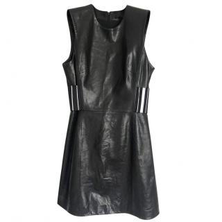 Alexander Wang leather dress