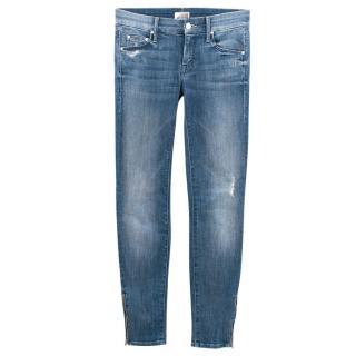 Mother Light Wash Denim Jeans