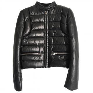 Prada leather jacket 2019 Purchase price �1200